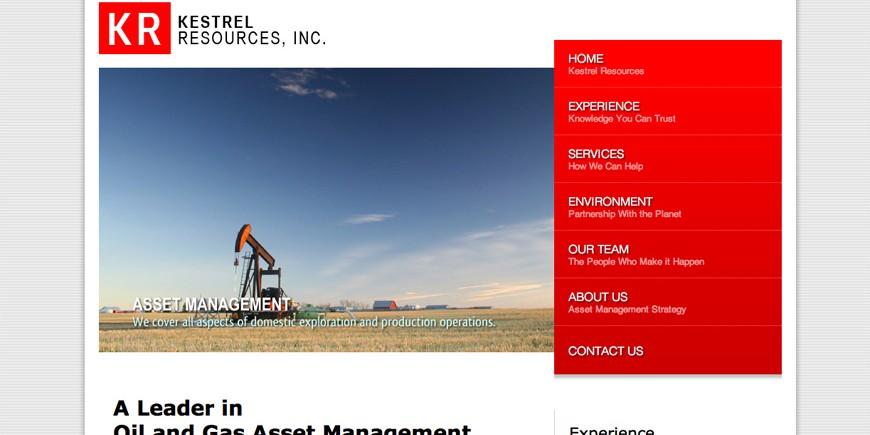 Kestrel Resources, Inc.