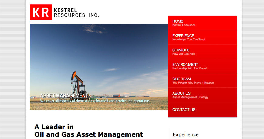 Kestrel Resources, Inc.